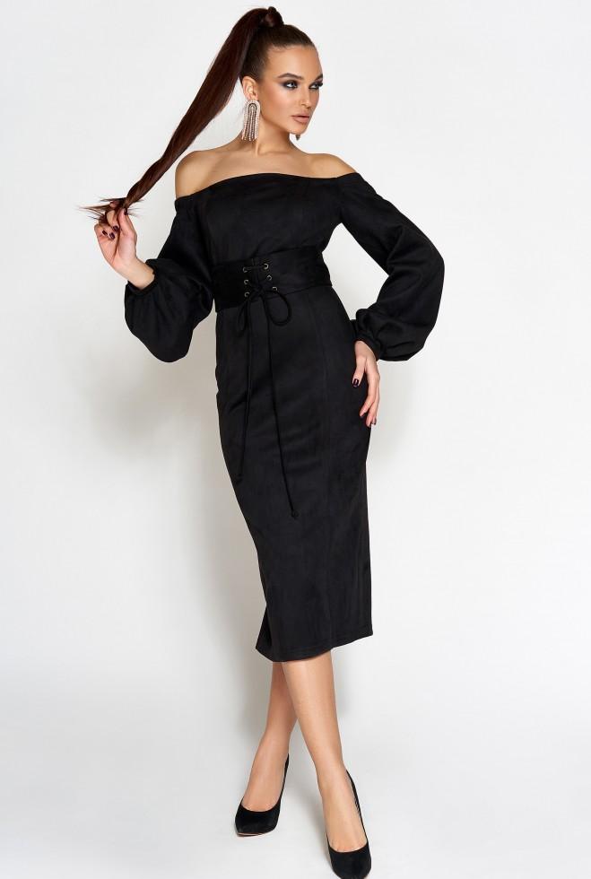 Платье Кристал черный