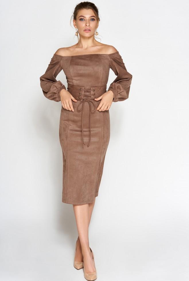 Платье Кристал Шоколад
