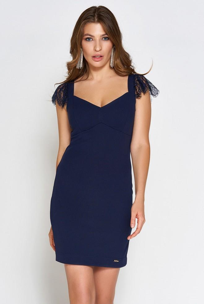Платье Алиса тёмно-синий