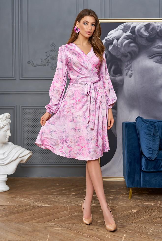Платье-трансформер Глория розовый
