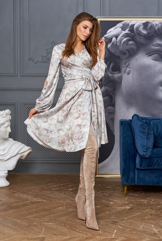 Платье-трансформер Глория оливка