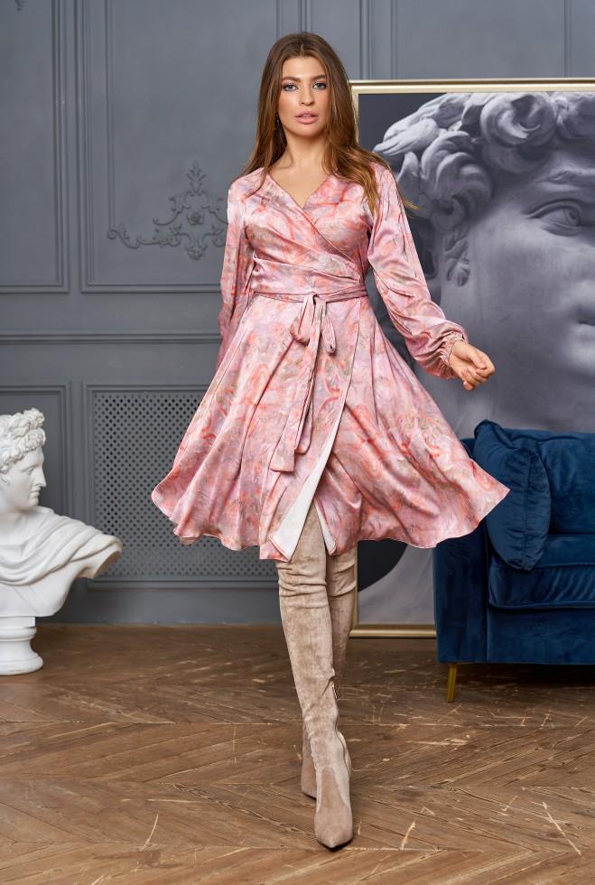 Платье-трансформер Глория персиковый