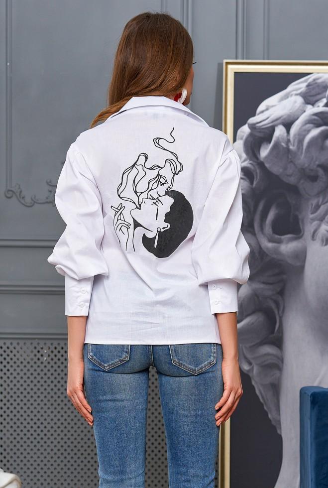 Рубашка Рина белый