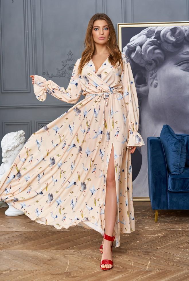 Платье Оливия Светлый персик