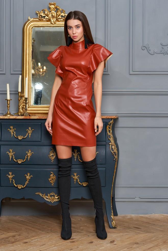 Платье Лора кирпичный
