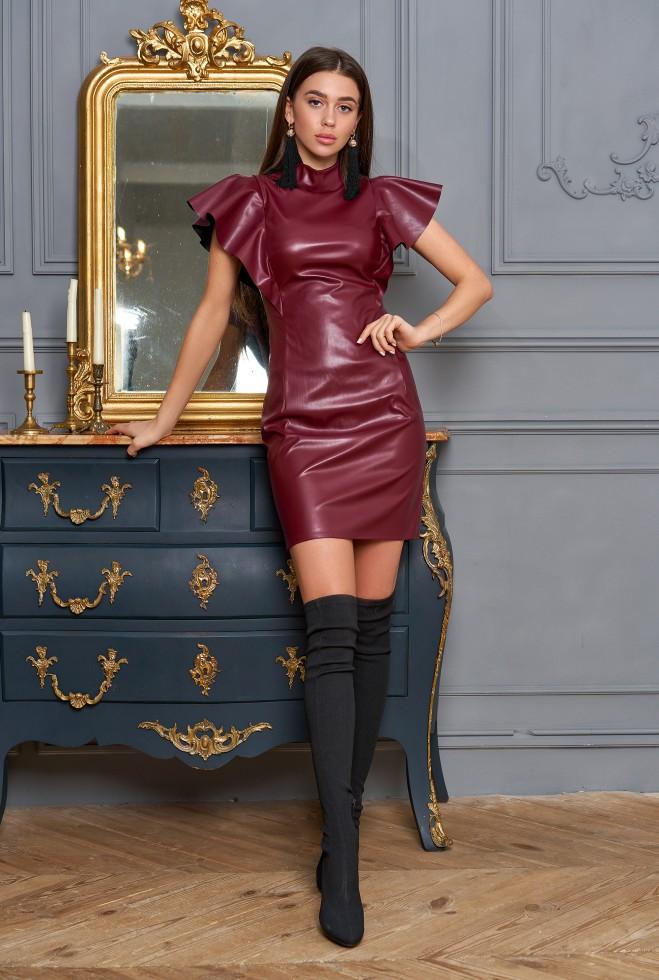 Платье Лора вишня Жадон