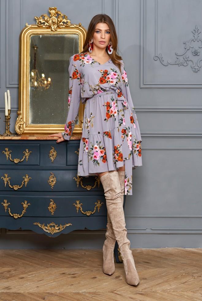 Платье Лолита серый Жадон