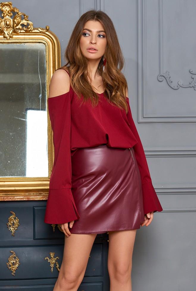 Блуза Мирида марсала