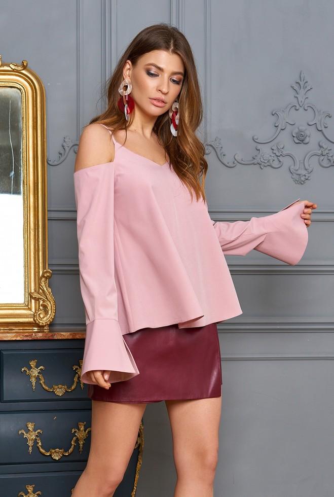 Блуза Мирида пудра