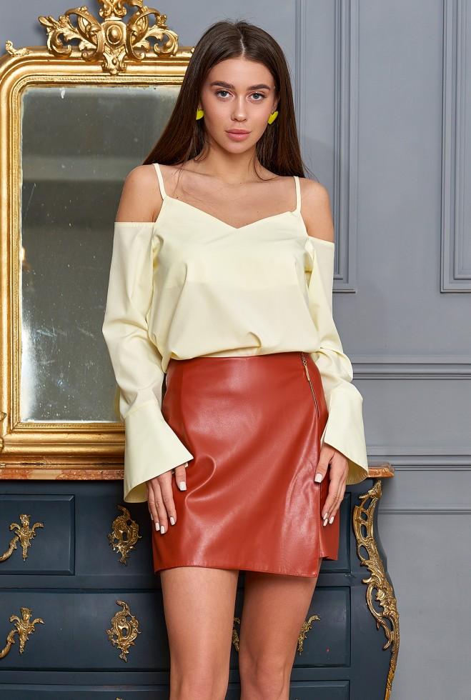 Блуза Мирида лимонный