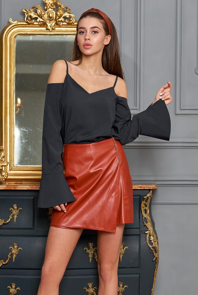 Блуза Мирида черный