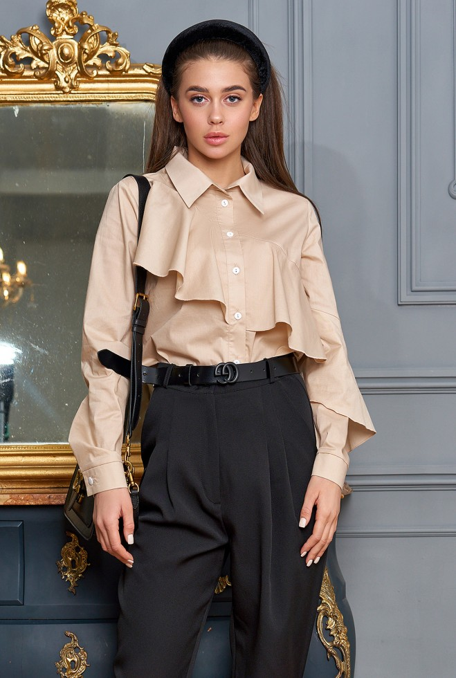 Блуза Джой бежевый