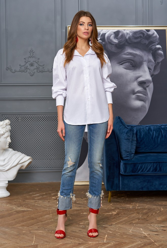 Рубашка Марика белый