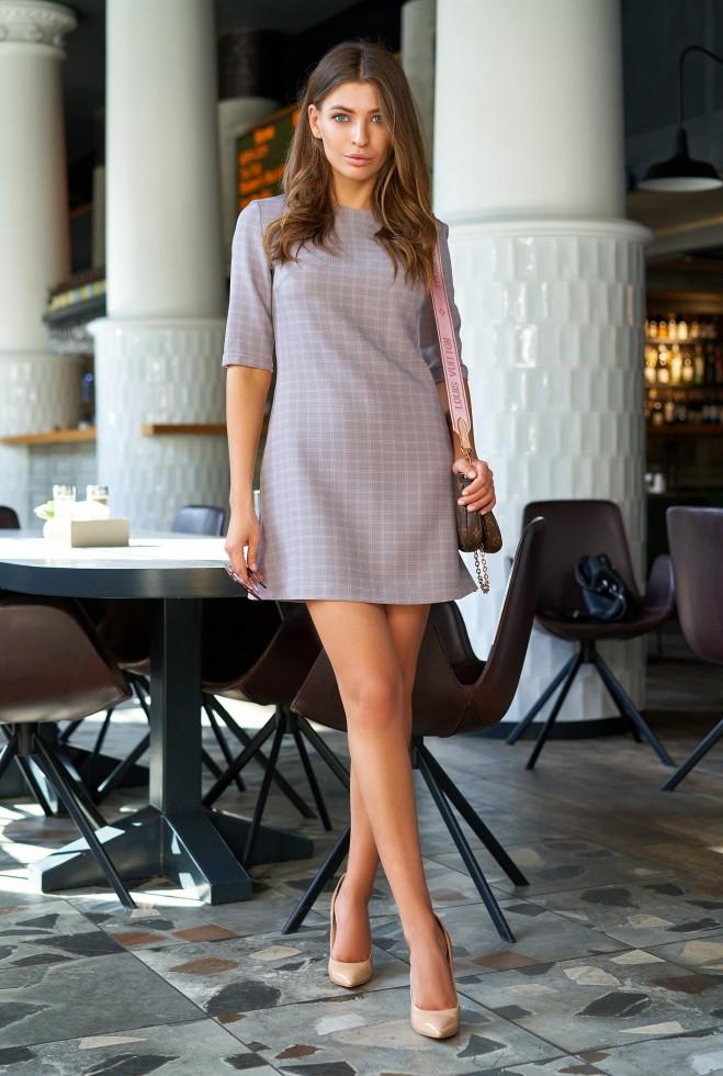 Платье Гарсия лиловый Жадон