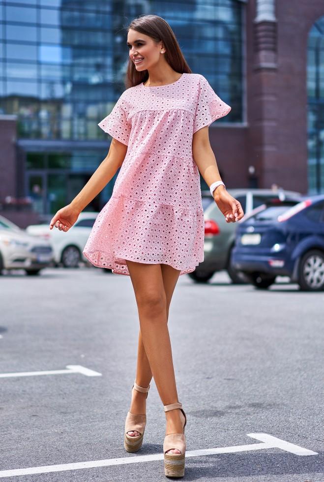 Платье Рида персиковый