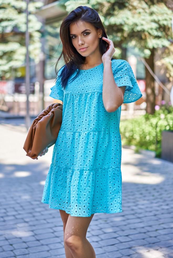 Платье Рида бирюзовый