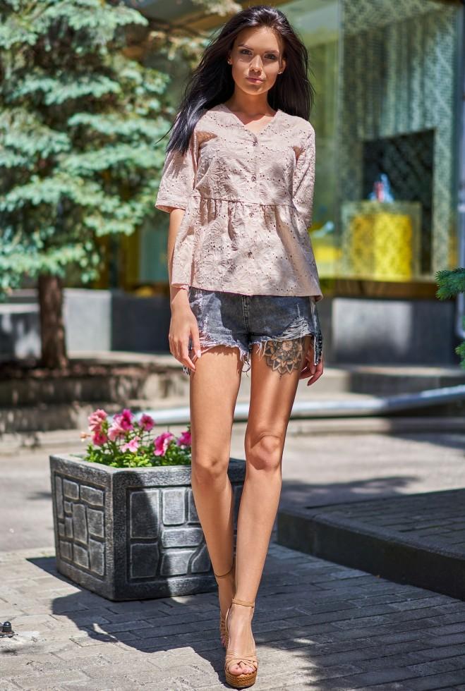 Рубашка Кани бежевый Жадон