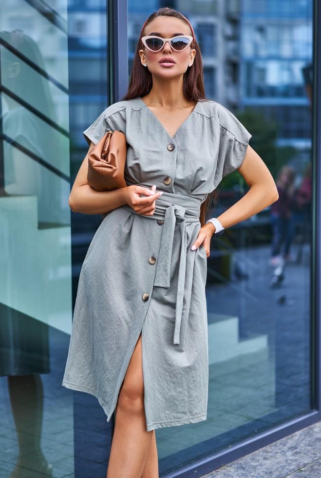 Платье Вайли хаки