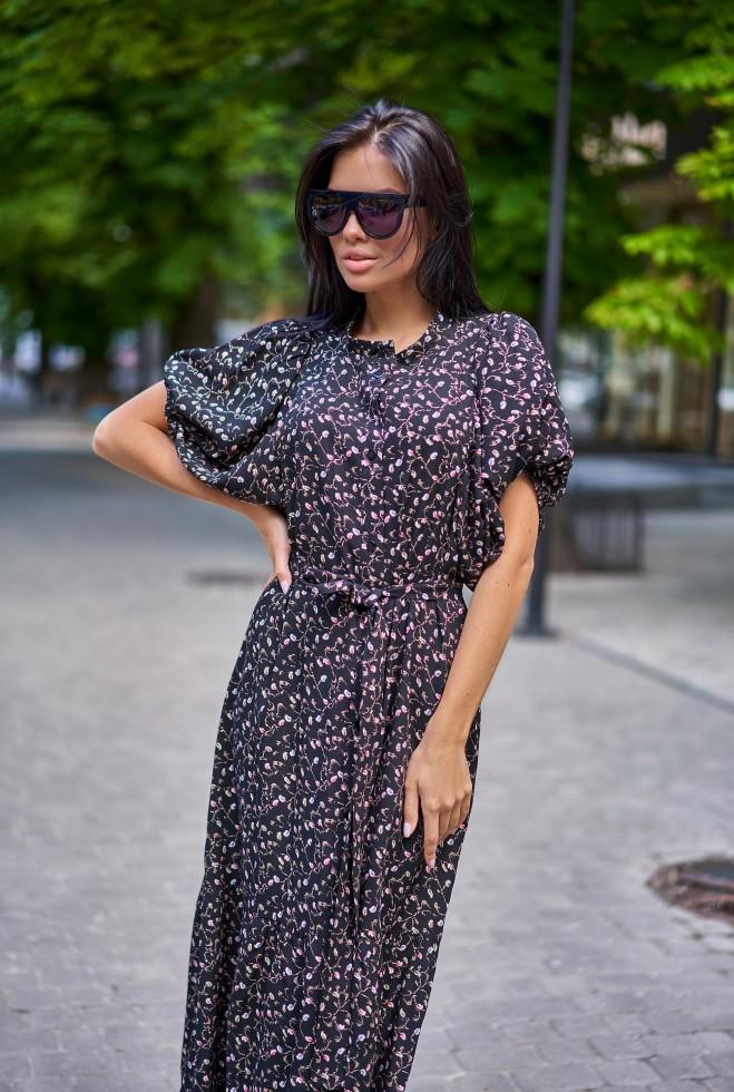Платье Нотти черный
