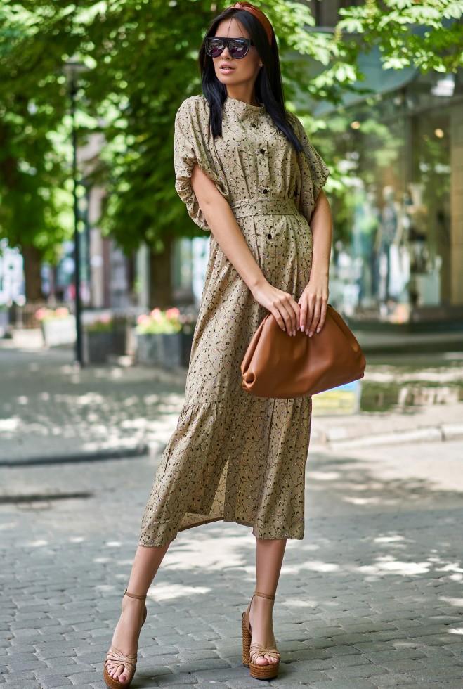 Платье Нотти хаки