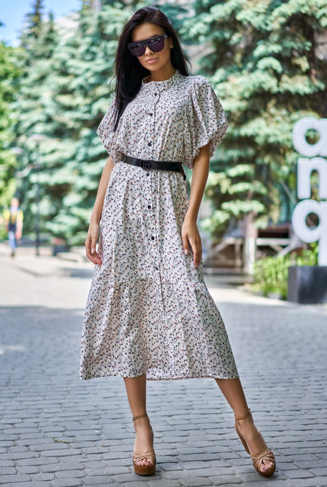 Платье Нотти бежевый
