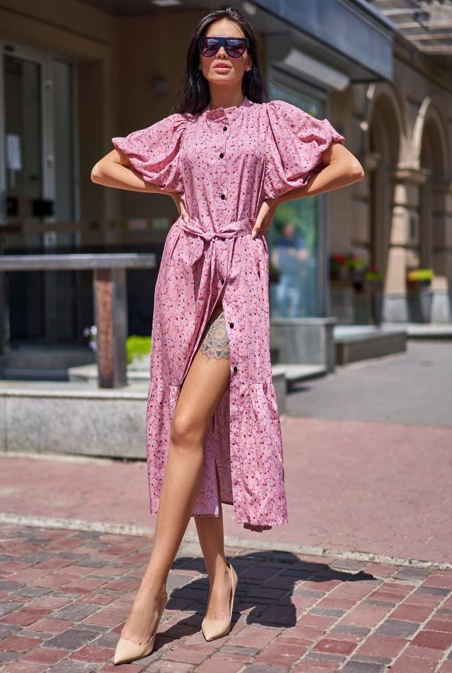 Платье Нотти пудра