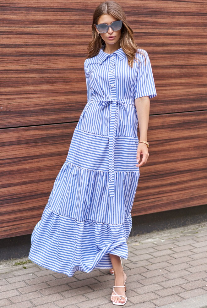Платье Нея тёмно-синий Жадон