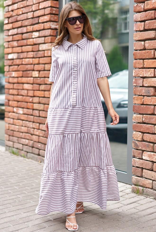 Платье Нея бежевый Жадон