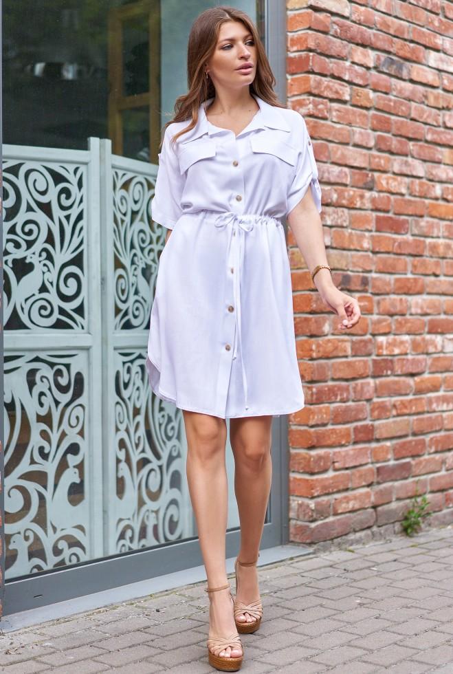 Платье Дарина белый
