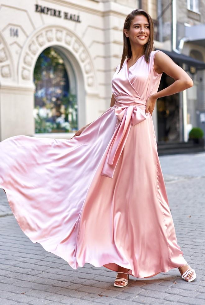 Платье Фурор персиковый