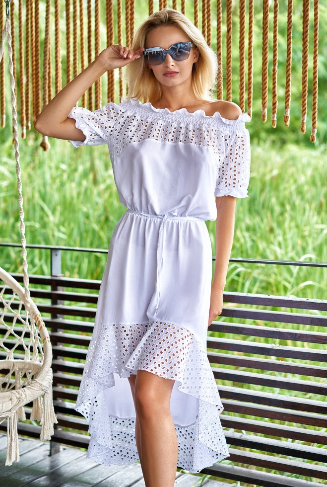 Платье Жозет белый