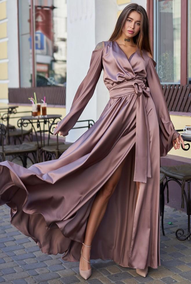 Платье Виктория Шоколад