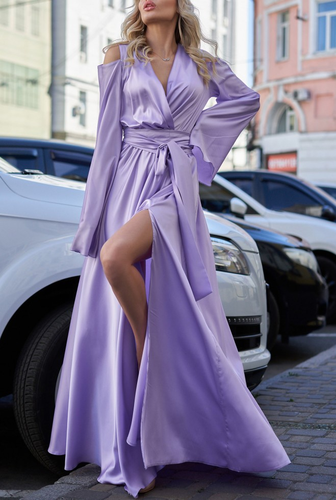Платье Виктория фиалковый