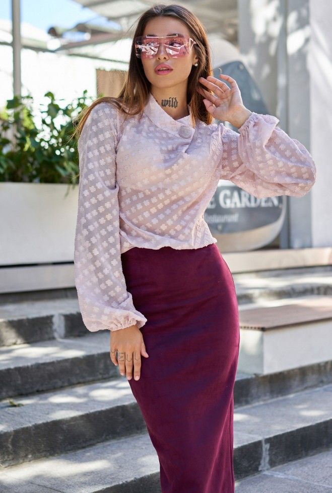 Блуза Неада пудра
