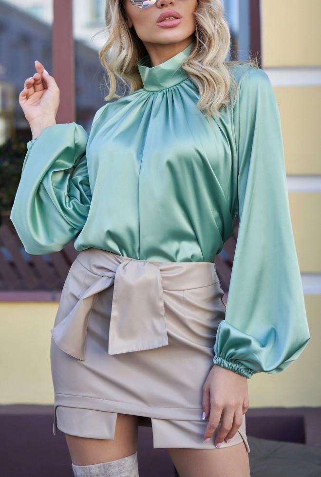 Блуза Гранде оливка