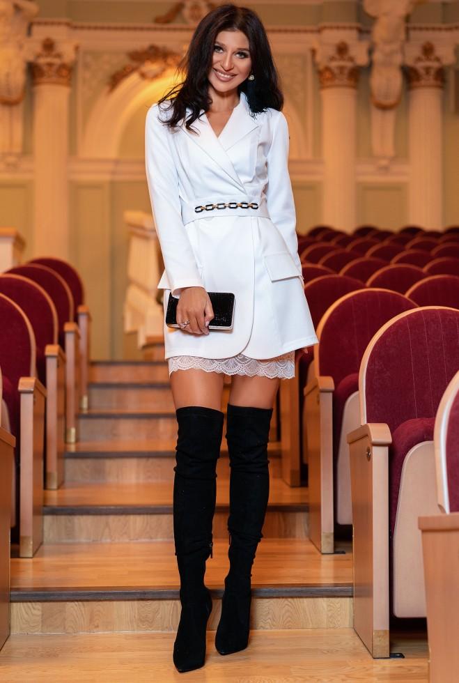 Платье Зиона белый