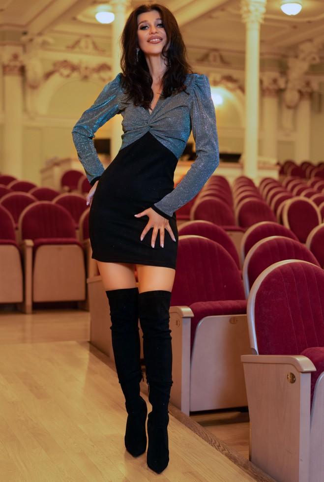 Платье Мелинда Изумруд Жадон