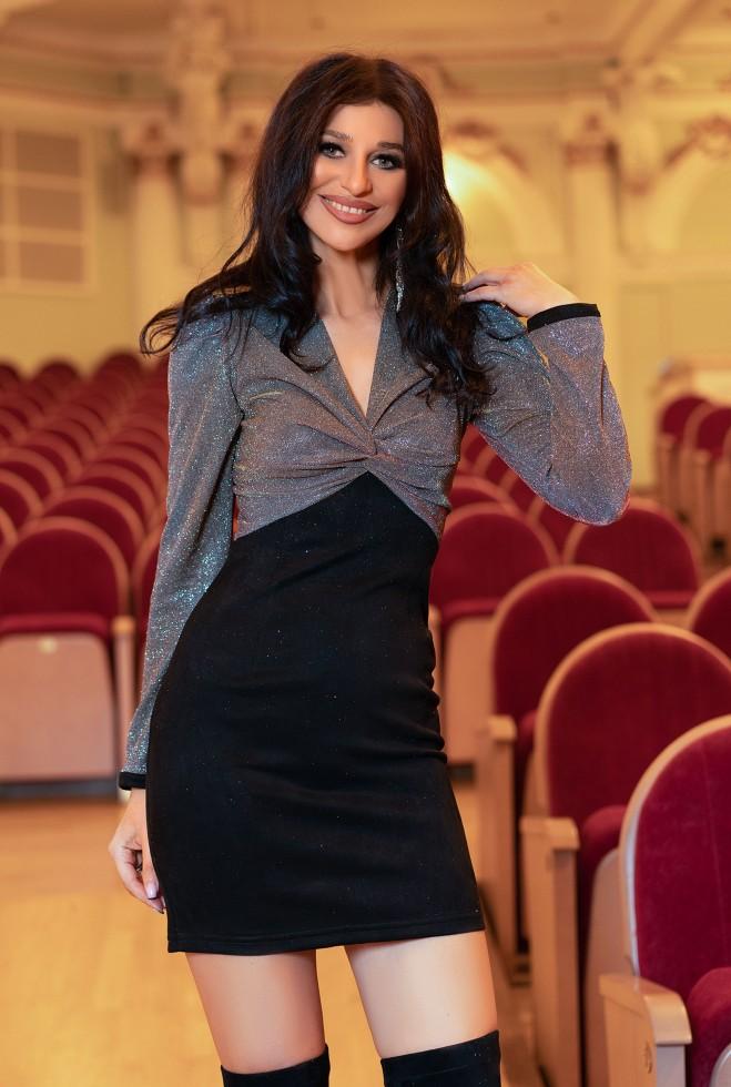 Платье Мелинда кирпичный