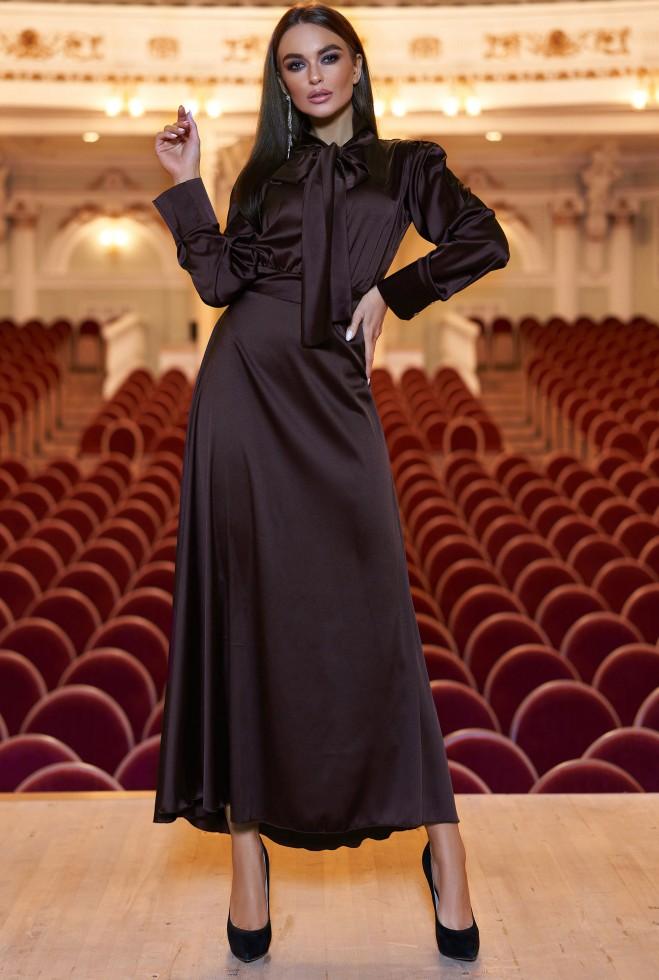 Платье Катриона Шоколад