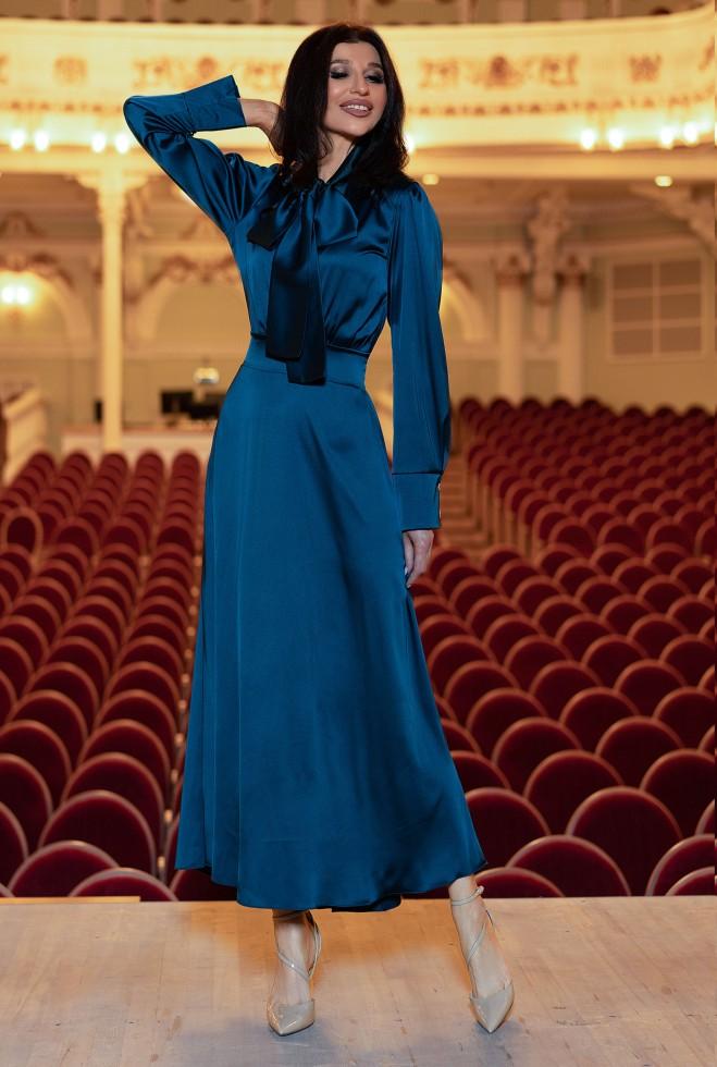 Платье Катриона Изумруд Жадон