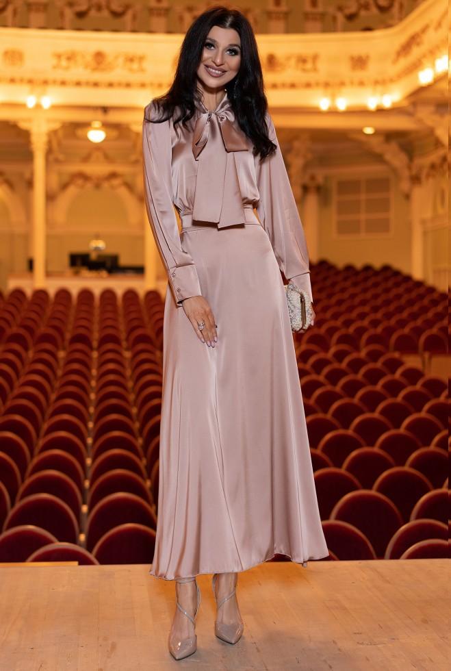 Платье Катриона темно-бежевый