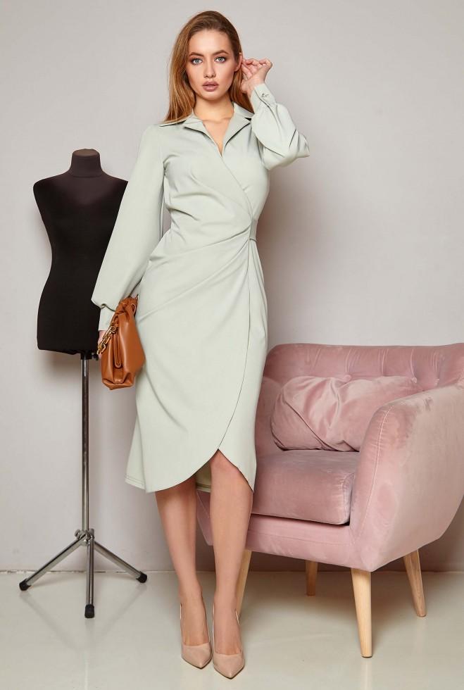 Платье Иви оливка Жадон
