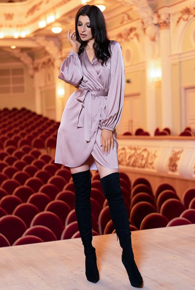 Платье Квинта пудра Жадон