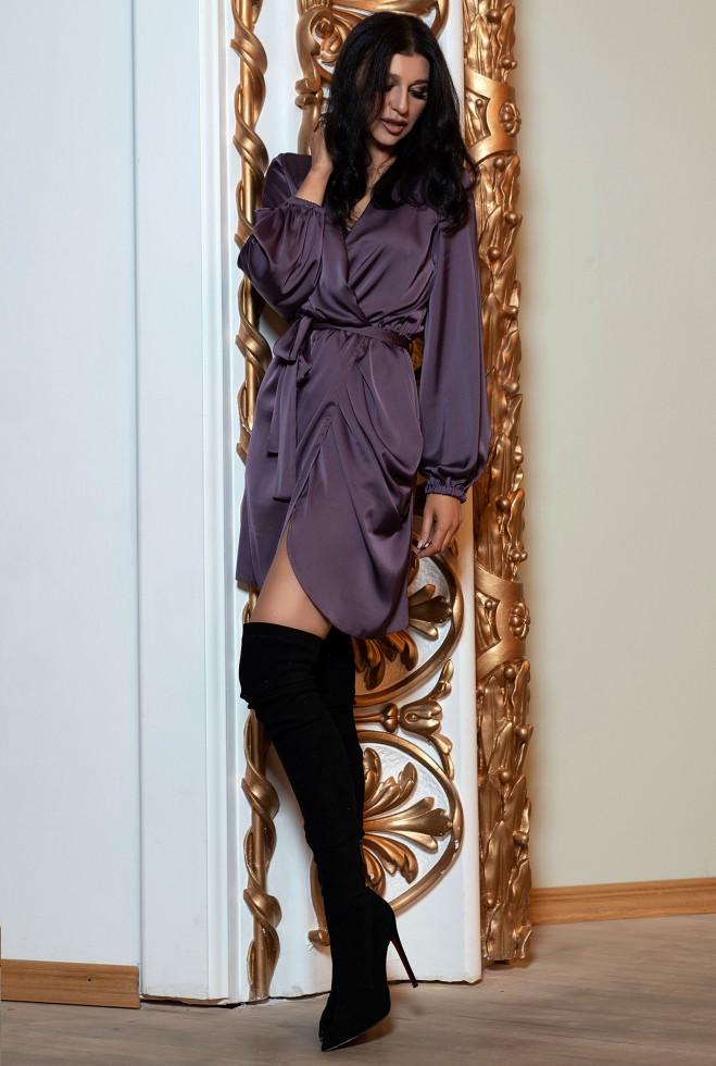 Платье Квинта черника Жадон