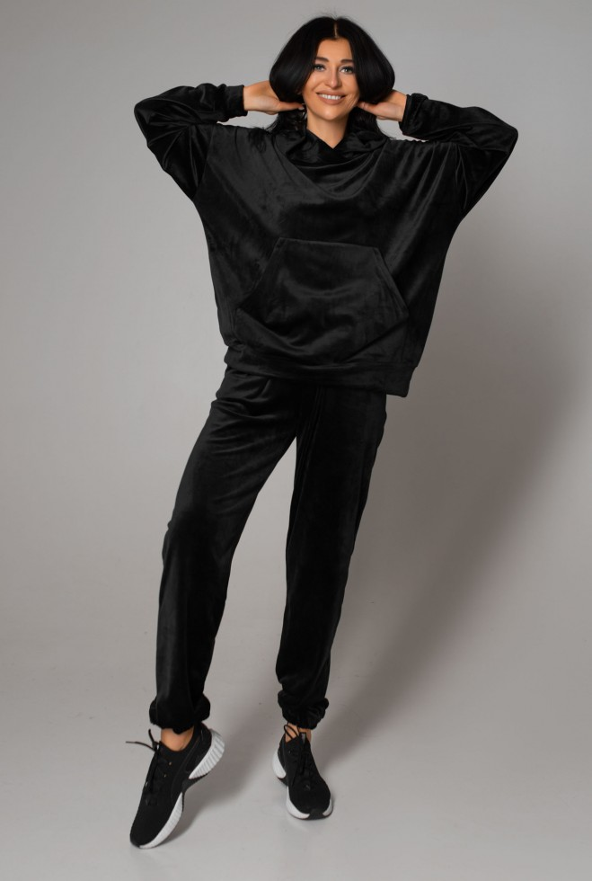Прогулочный костюм Велли черный