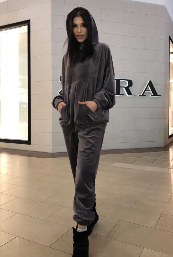 Прогулочный костюм Велли мокко