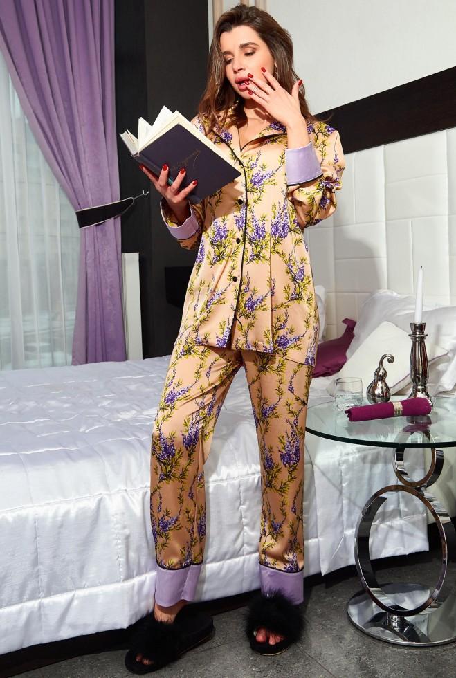 Пижама Бель золото Жадон