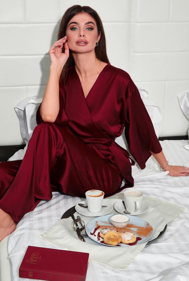 Пижама Лионе винный Жадон