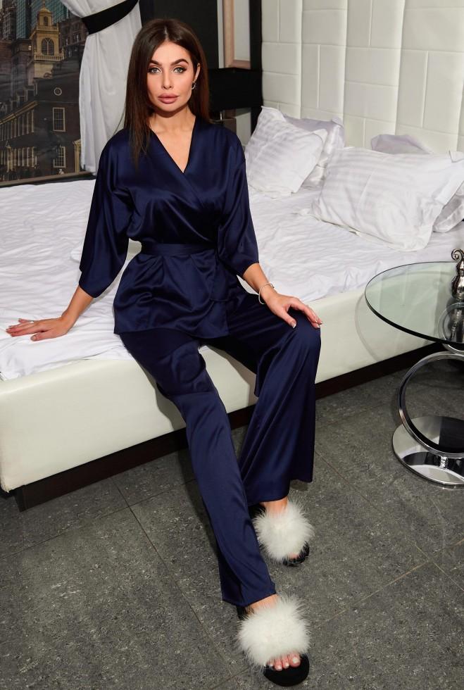 Пижама Лионе тёмно-синий Жадон