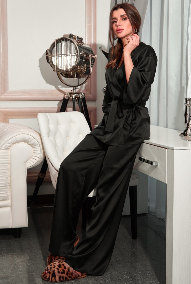 Пижама Лионе черный Жадон